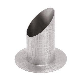 KL 7 Kerzenständer Röhre silber 4 cm  17,95 €