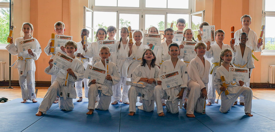 Aikidoschule Berlin - Kinderprüfungen Sommer 2019