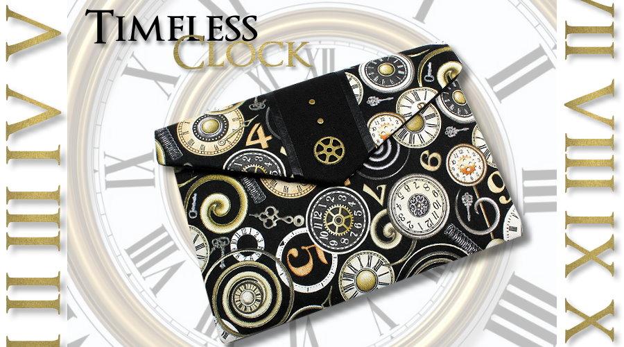 Buchtasche Timesless Clock im Steampunk-Style