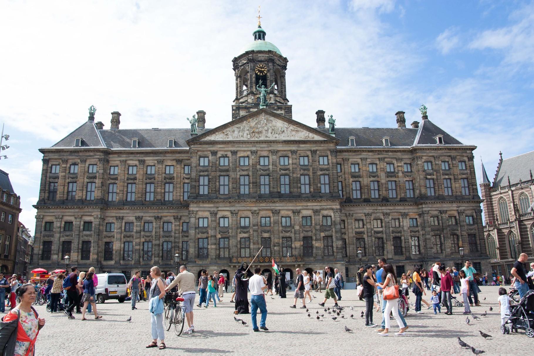 Der Königspalast in Amsterdam