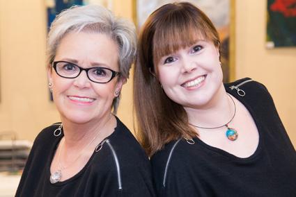 v.l.: Cornelia & Caroline Dahlmann