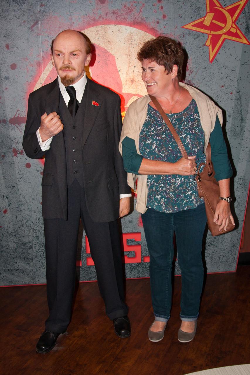 Lilli Peters und Wladimir Iljitsch Lenin