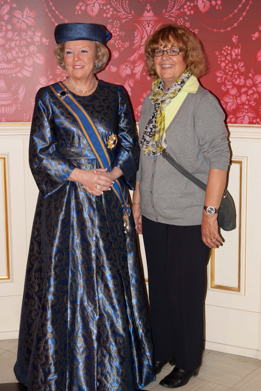 Marianne hat eine Audienz bei Beatrix