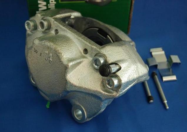 Mercedes R107 W114 W115 W116 W123 Rear Left Disc Brake Caliper 1234200583 ATE