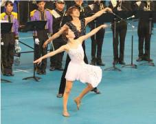 バトントワーリング世界選手権代表 喜田将平選手 平井夢乃選手