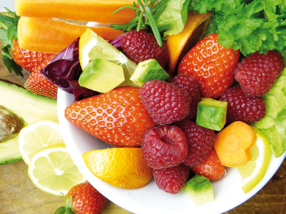 Früchte der Saison