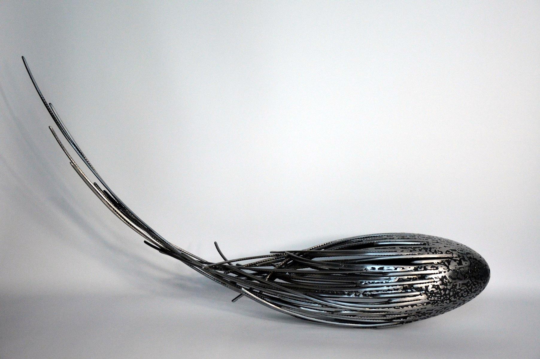 <h2>Serge GUARNIERI </h2> Sculpteur métal