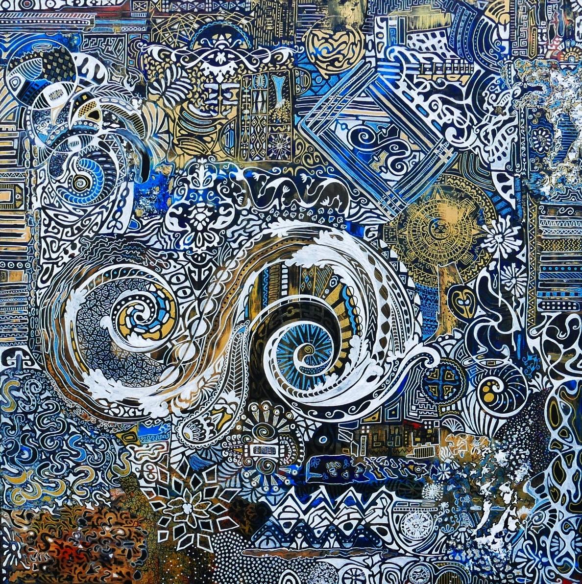 <h2>Yve BOUTDEBOIS</h2> Peintre