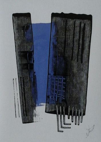 <h2>Benoît THIEL</h2> Peintre
