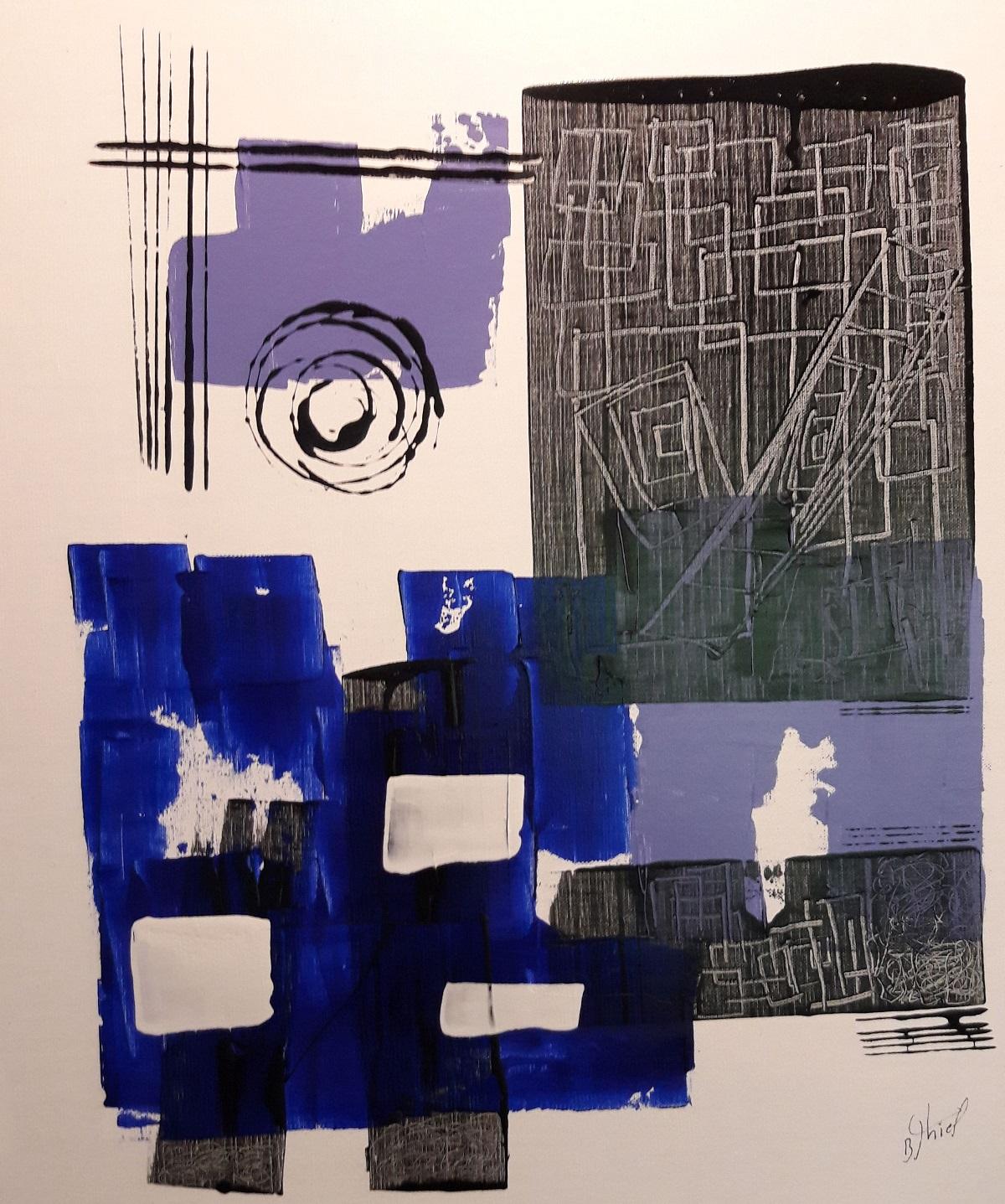 <h2>Benoit THIEL</h2> Peintre