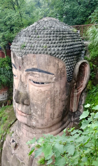 The great Buddha of Leshan