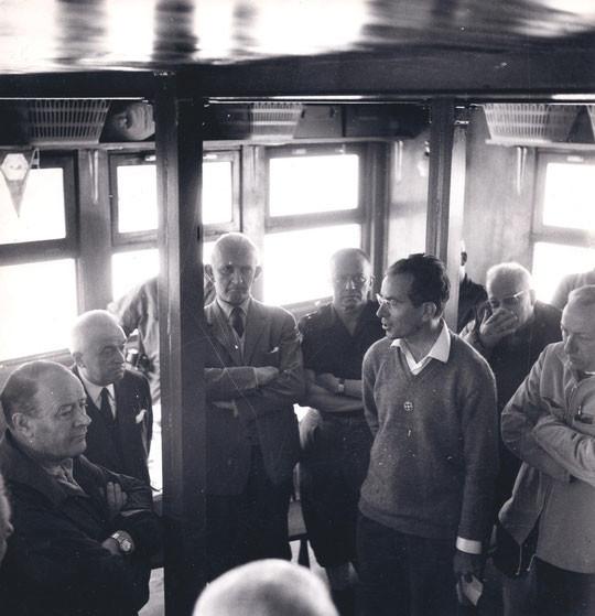 26 juin 1966 inauguration officielle du nouveau refuge du Promontoire.