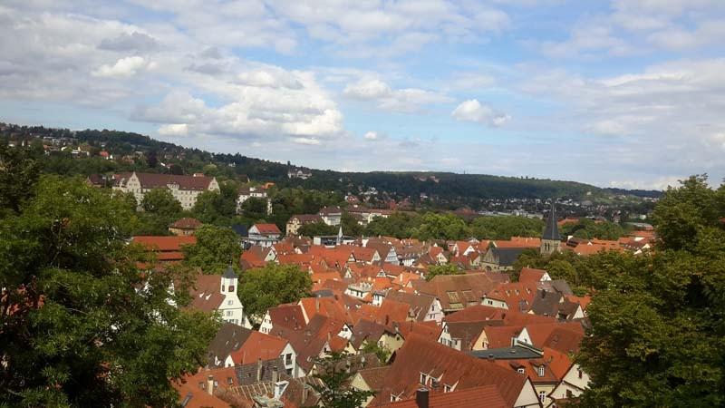 Tübingen von oben