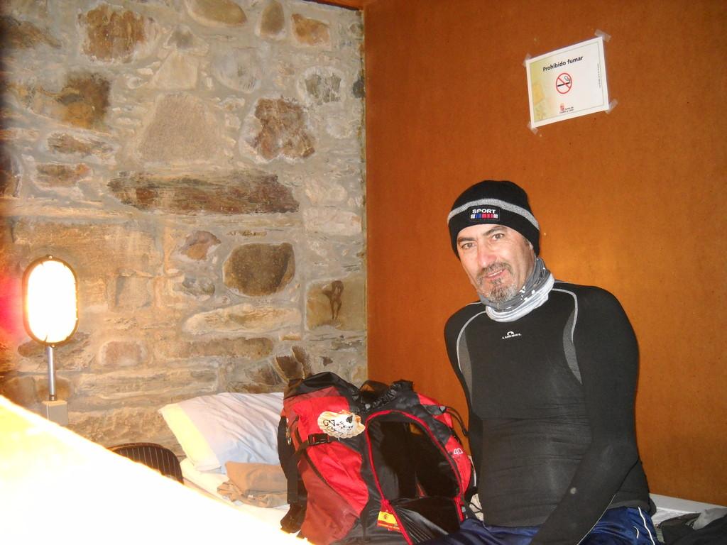 INTERIOR DEL ALBERGUE EN CACABELOS
