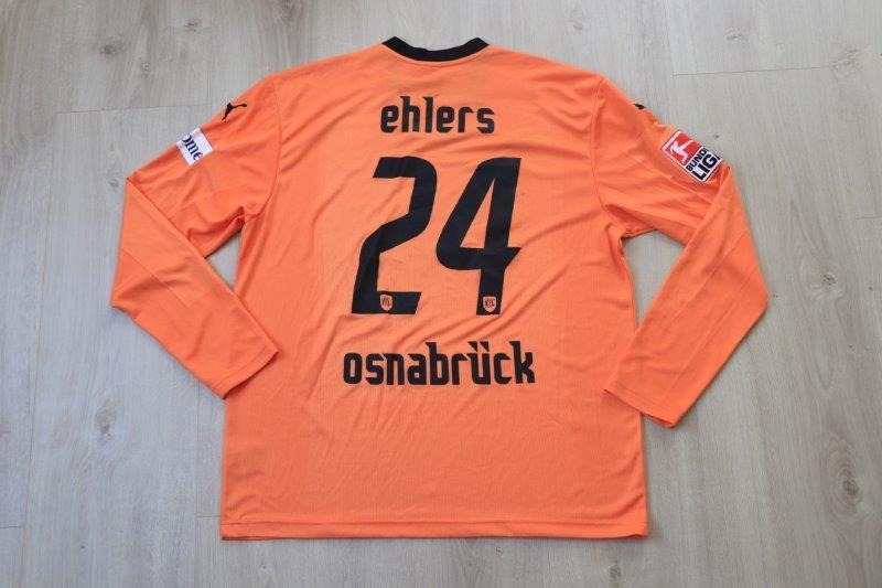 VfL Osnabrück 2007/08 Third langarm, Nr. 24 Ehlers (Matchworn)