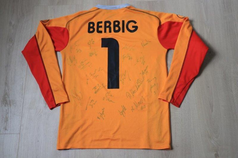 VfL Osnabrück 2005/06 Torwart signiert, Nr. 1 Berbig