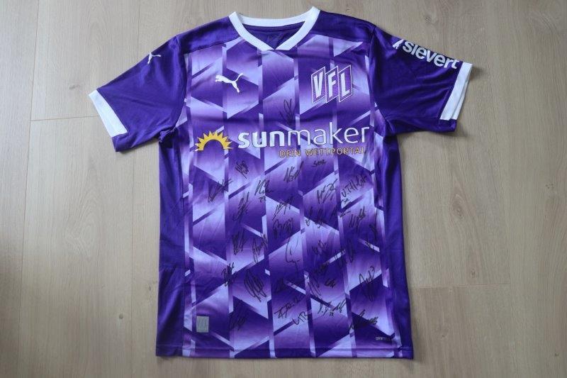 VfL Osnabrück 2020/21 Heim mit Autogrammen