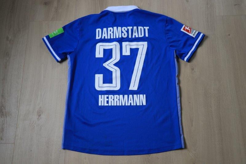 SV Darmstadt 98 19-20 Heim, Nr. 37 Herrmann (Matchworn gg. Heidenheim 20.09.19)
