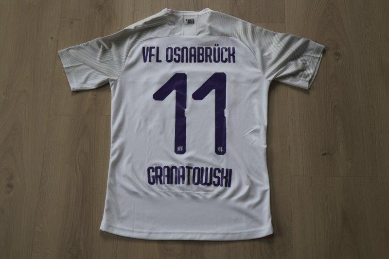 VfL Osnabrück 2019/20 Away, Nr. 11 Granatowski (Matchvorbereitet)