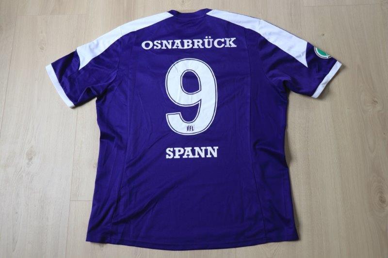 VfL Osnabrück 2013/14 Heim, Nr. 9 Spann
