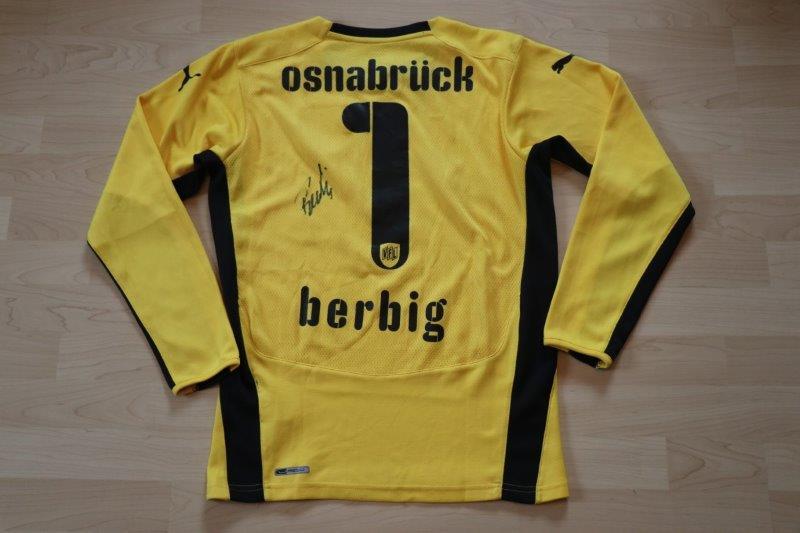 VfL Osnabrück 2009/10 Torwart mit Autogramm, Nr. 1 Berbig