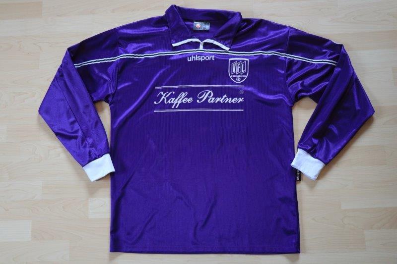 VfL Osnabrück 2001/02 Heim Langarm mit Autogramm, Nr. 1 Brunn