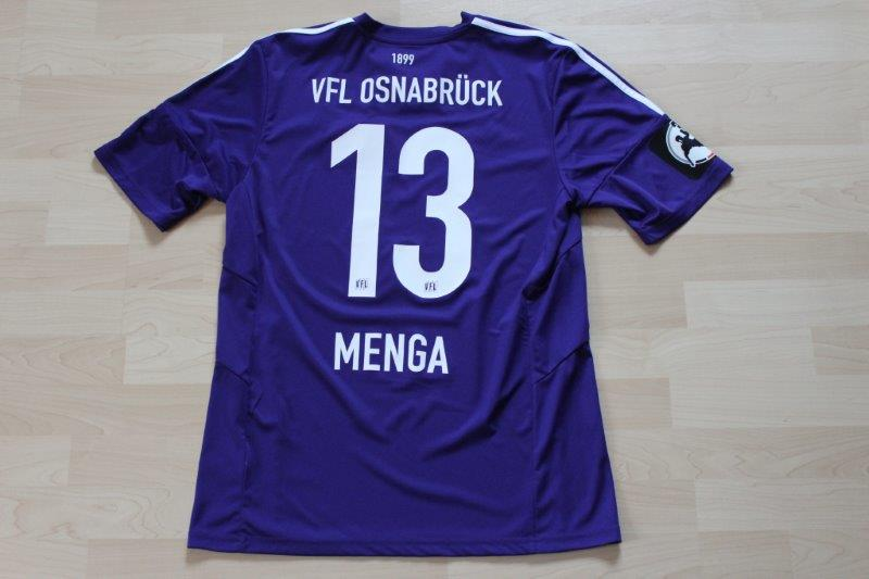 VfL Osnabrück 2015/16 Heim, Nr. 13 Menga (Matchworn)