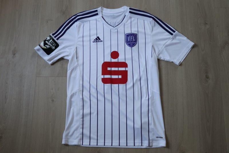 VfL Osnabrück 2015/16 Away signiert, Nr. 9 Savran (Matchworn Sparda-Bank Hallen-Cup, Flensburg)
