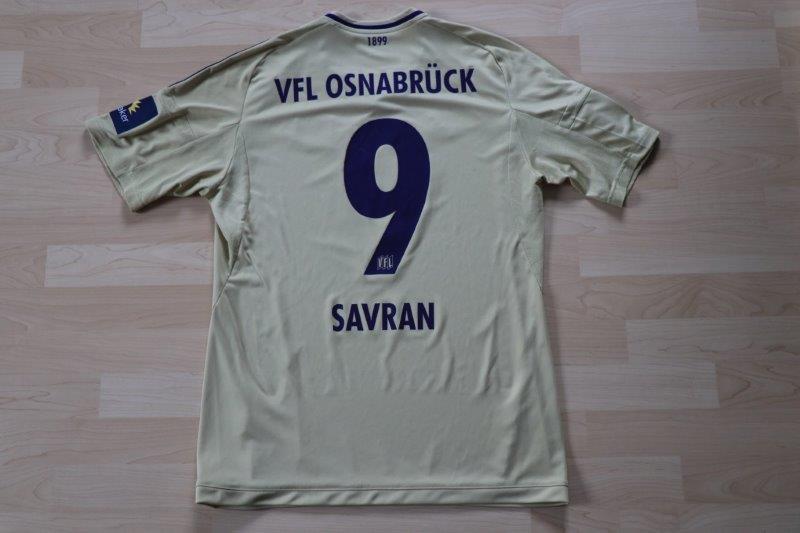 VfL Osnabrück 2017/18 Away, Nr. 9 Savran (Derby-Matchworn 30.09.17 gg. Münster, Torschütze)