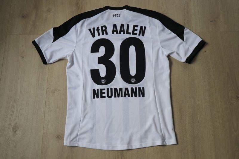 VfR Aalen 2014/15 Heim, Nr. 30 Neumann (Matchworn)