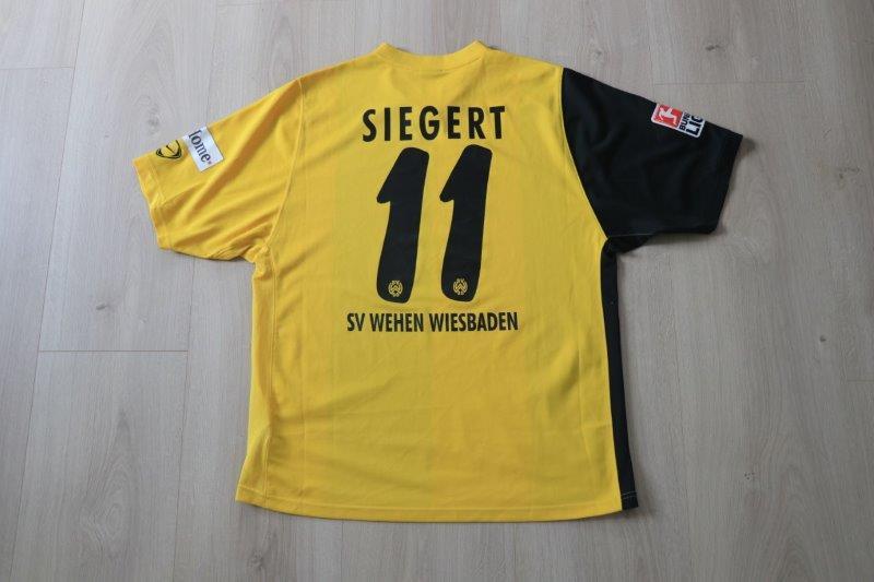 SV Wehen Wiesbaden 2007/08 Away, Nr. 11 Siegert (Matchworn)