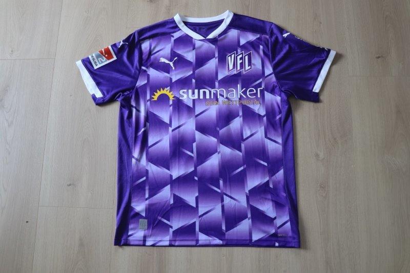 VfL Osnabrück 2020/21 Heim signiert, Nr. 13 Reichel (getragen bei der Spielervorstellung 14.08.20)