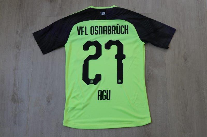 VfL Osnabrück 2019/20 Third, Nr. 27 Agu
