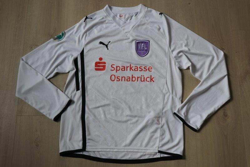 VfL Osnabrück 2009/10 Away Langarm mit Autogrammen, Nr. 8 Bencik