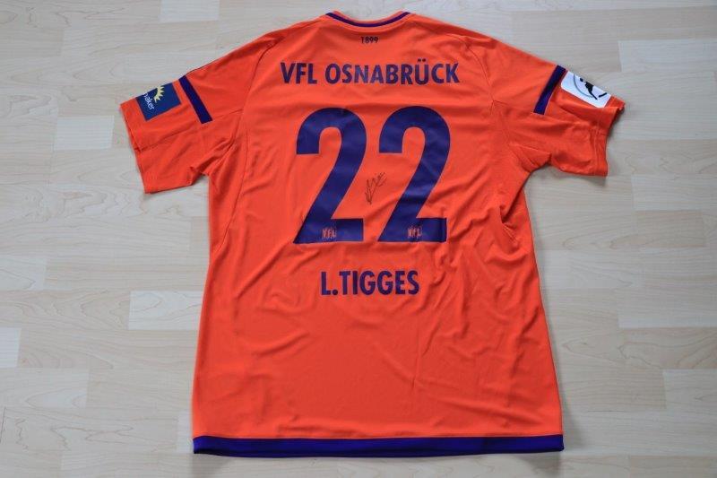 VfL Osnabrück 2017/18 Torwart mit Autogramm, Nr. 22 Tigges