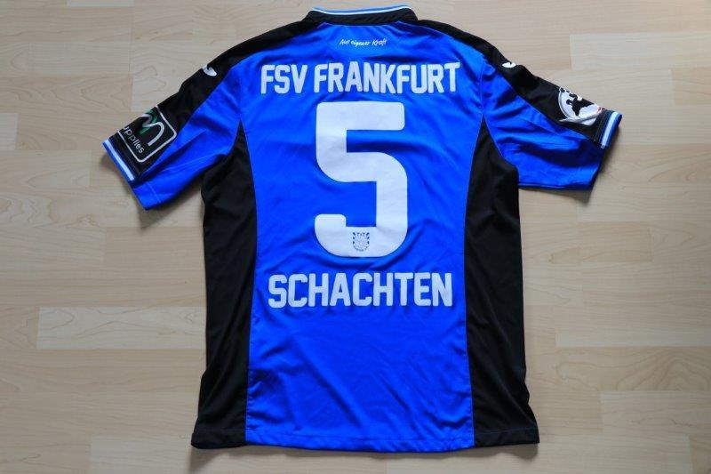 FSV Frankfurt 2016/17 Heim, Nr. 5 Schachten (Matchworn gg. den VfL  16.04.17)