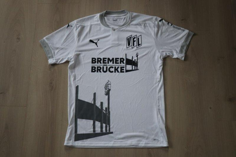 """VfL Osnabrück 2020/21 Sondertrikot """"Bremer Brücke"""""""
