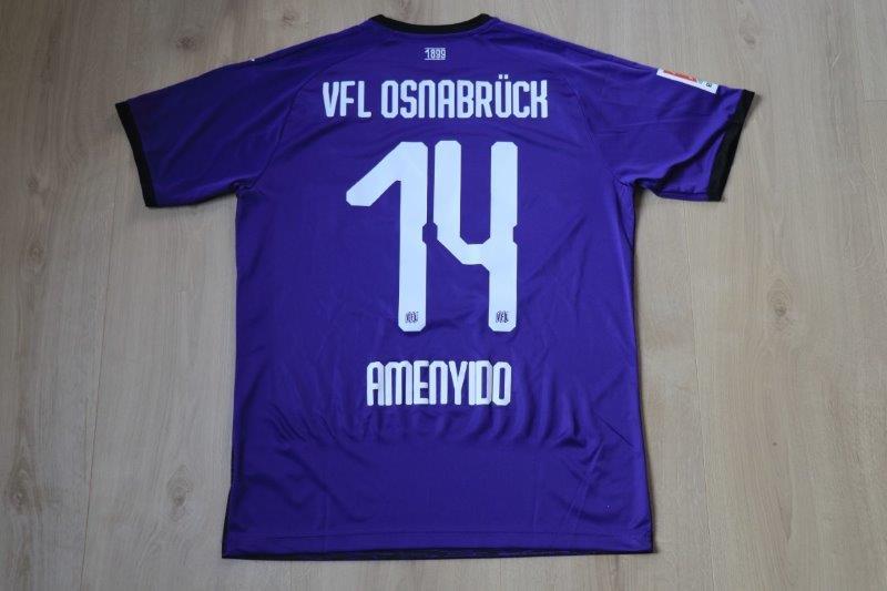 VfL Osnabrück 2019/20 Heim, Nr. 14 Amenyido (Matchworn aus Freundschaftsspiel gegen Emmen 14.11.19)