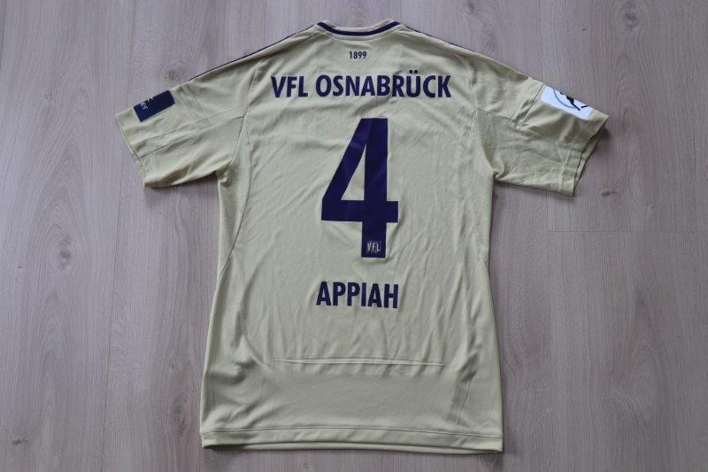 VfL Osnabrück 2017/18 Away, Nr. 4 Appiah (Matchworn gg. Großaspach 09.09.17)