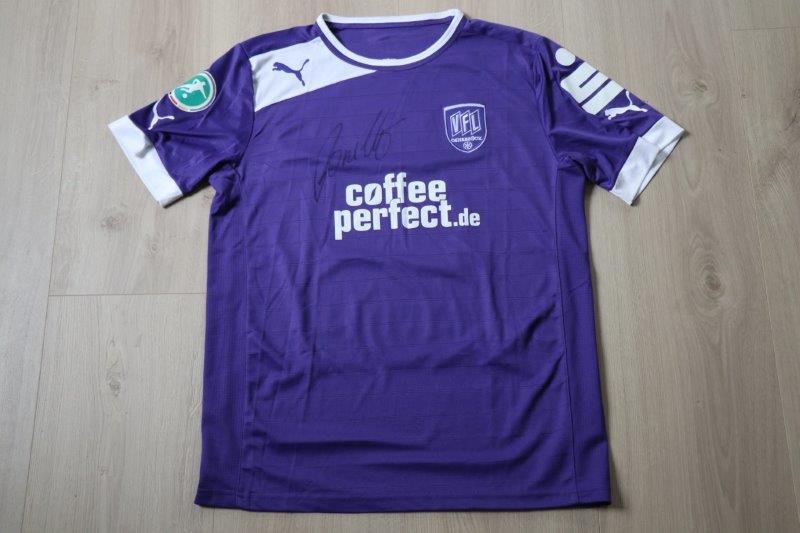 VfL Osnabrück 2012/13 Heim mit Autogramm, Nr. 23 Porcello (Matchworn)