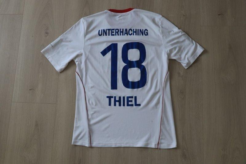 SpVgg Unterhaching 2014/15 Away, Nr. 18 Thiel (Matchworn)