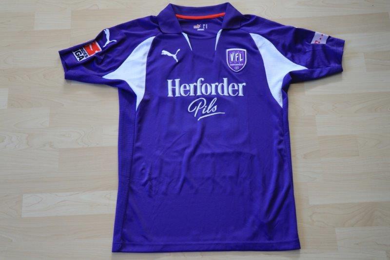 VfL Osnabrück 2007/08 Heim, Nr. 20 Frommer (Matchworn)