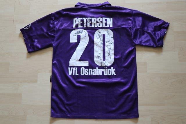 VfL Osnabrück 2001/02 Heim mit Autogrammen, Nr. 20 Petersen