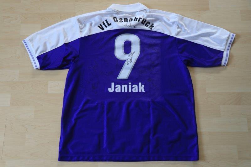VfL Osnabrück 1999/00 Heim mit Autogrammen, Nr. 9 Janiak