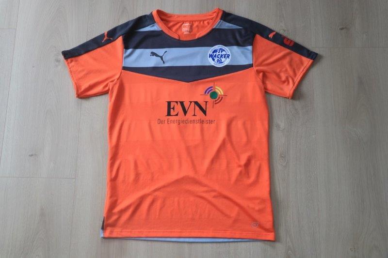 FSV Wacker Nordhausen 2017/18 Torwart, Nr. 1 Berbig (Matchworn)