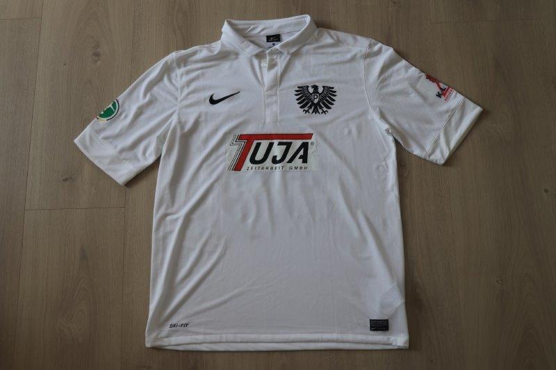 SC Preußen Münster 20012/13 Heim, Nr. 33 Menga (Matchworn)
