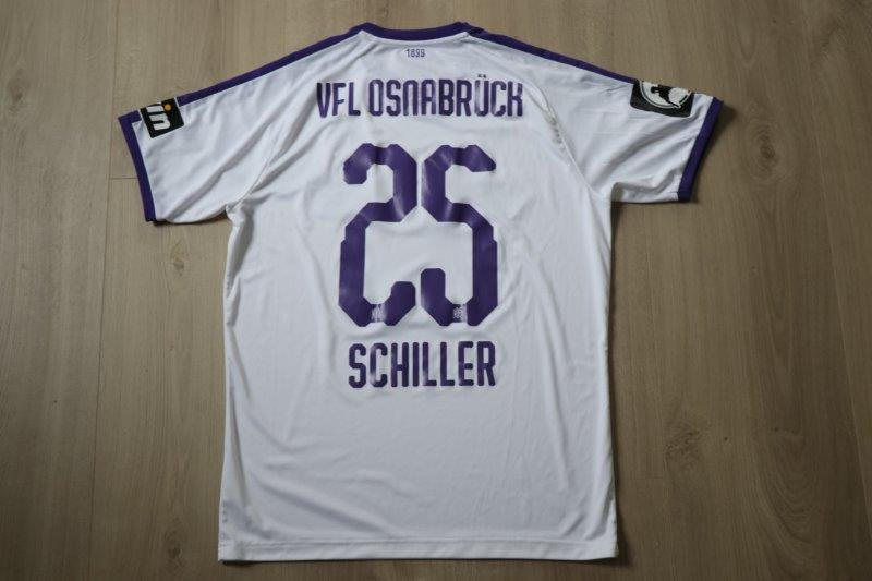 VfL Osnabrück 18-19 Away, Nr. 25 Schiller (Matchworn)