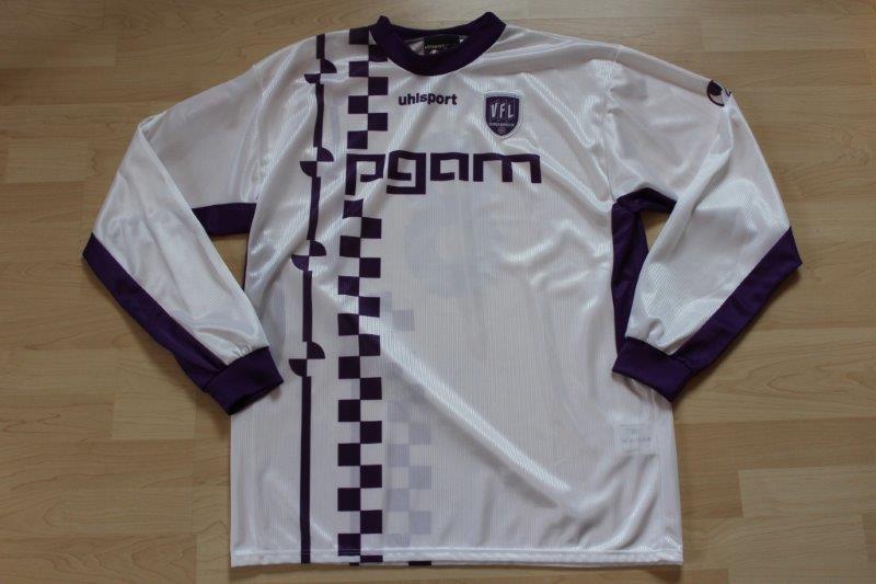 VfL Osnabrück 2003/04 Away Langarm, Nr. 8 Enochs (Matchworn)