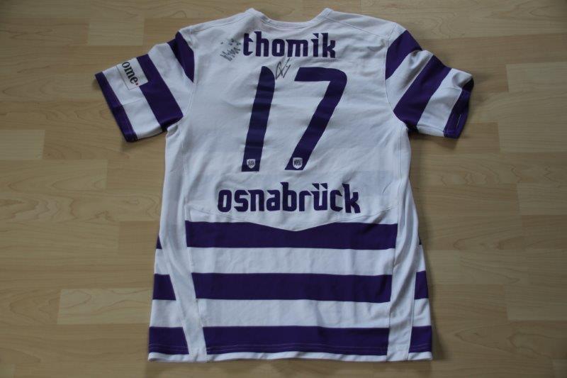 VfL Osnabrück 2008/09 Heim, Nr. 17 Thomik (Matchworn)