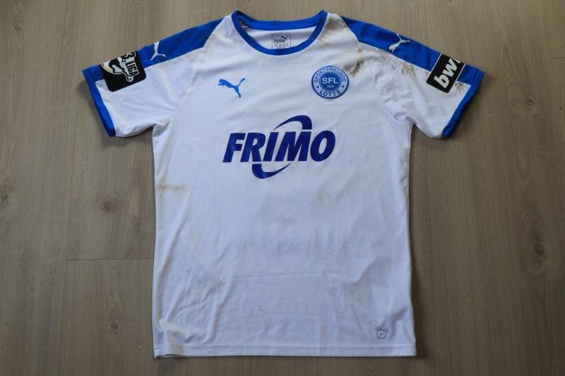 Sportfreunde Lotte 2018/19 Heim mit Autogramm, Nr. 8 Reimerink (Matchworn gg. VfL Osnabrück 20.10.18)